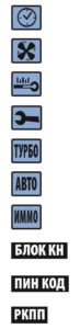 Индикация активных режимов и функций старлайн а91